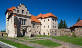 Former Castle, Chateau and now a museum in Polna. Stock Images