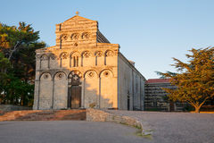 Former cathedral of San Pietro di Sorres Royalty Free Stock Images
