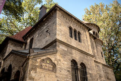 Former Ceremonial Hall (circa 1912, architect J. Gerstl of Klausen Synagogue in Jewish Stock Images
