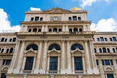 The Former Chamber of Commerce Building in Old Havana,Cuba Stock Images
