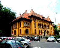 Former City Hall of  the town Brasov (Kronstadt), Transilvania, Romania Royalty Free Stock Image