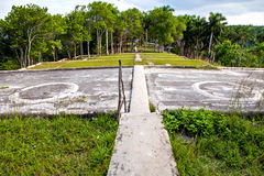 Former coffee farm, Buena Vista, Eco-village of Las Terrazas, Cuba, Pinar Del Rio Pro. Las Terrazas, Cuba - December 13, 2016 Royalty Free Stock Photo