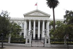 Former Congress Building Santiago de Chile Royalty Free Stock Photos