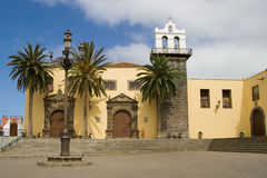 Former convent in Garachico Royalty Free Stock Images