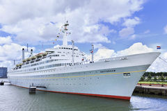 Former Cruiseship 'Rotterdam' Royalty Free Stock Images