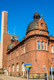 Former customs and warehouse at Port of Helsinki Royalty Free Stock Photos