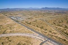 Former Desert Proving Grounds Royalty Free Stock Photos