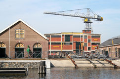 Former dockyard of the Royal navy Royalty Free Stock Photography