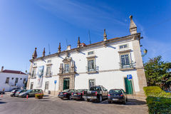 The former Eugenio Silva Palace, a 17th century Manor-House Royalty Free Stock Photography