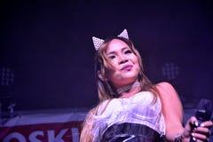 Former X-Factor contestants 4th Impact Stock Photos