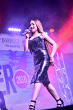 Former X-Factor contestants 4th Impact performed at the annual Gibraltar Summer Nights. Gibraltar - 4th August 2015 - Former X-Factor contestants 4th Impact Stock Images
