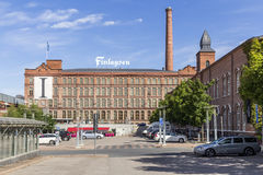 Former factory. In Tampere in Finland stock photography