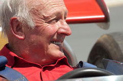 Former Ferrari F1 driver, Chris Amon Stock Images