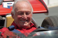 Former Ferrari F1 driver, Chris Amon Stock Photo
