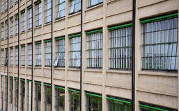 Former Fiat Factory Turin. Former car Factory Turin Italy Royalty Free Stock Photography