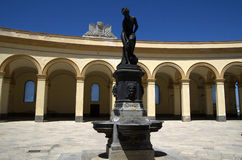 Former fish market at  Piazza Mercato del Pesce in Trapani,Italy Royalty Free Stock Images