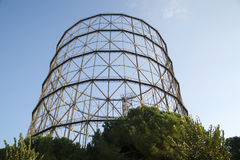 Former gasometer Rome Royalty Free Stock Photos