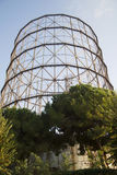Former gasometer Rome Royalty Free Stock Photo