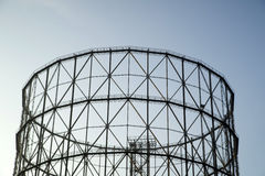Former gasometer Rome Royalty Free Stock Image