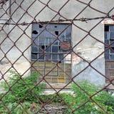 Former German port warehouse Royalty Free Stock Image