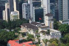Former Government House, Hong Kong. Former Government House in Hong Kong stock photos