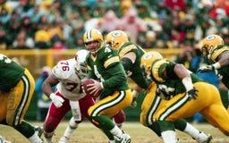 Brett Favre Green Bay Packers. Former Green Bay Packers QB Brett Favre. Scanned from slide royalty free stock photography