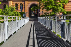 Former Gutleut barracks from 19th century are renovated Royalty Free Stock Images