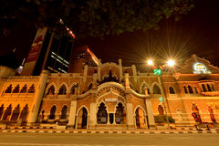 The former High Court building at Merdeka Square. Royalty Free Stock Photo