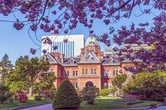 Former Hokkaido Government Office Building in Sapporo, Japan Stock Photos