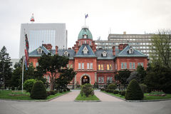 Former hokkaido government office in summer at sapporo Stock Photography