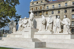Former Hungarian Prime Minister Lajos Kossuth monument in Budapest, Hungary. Stock Photo