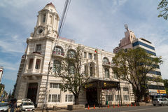 Former Immigration Department, then was a department store the. Yangon, Myanmar, 8 Nov 2015. The former Immigration Department, then a department store, the ' Stock Image