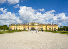 Former imperial summer residence Schonbrunn Palace Royalty Free Stock Photography