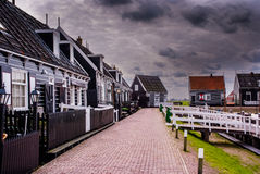 Former island Marken Stock Photo