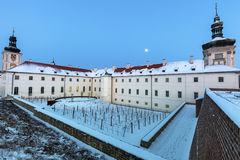 Former Jesuit College in Kutna Hora Royalty Free Stock Images