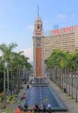 Former Kowloon Canton Railway Clock Tower Hong Kong Stock Images