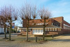 Former Public Library Hengelo. Historical Place of Hengelo - Early Twentieth Century stock images