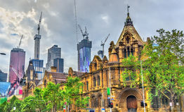 The Former Magistrates Court in Melbourne, Australia Royalty Free Stock Photography