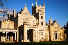 Tarrytown Lyndhurst Castle royalty free stock images