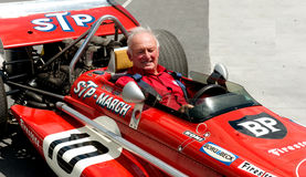 Former March F1 driver, Chris Amon Stock Image