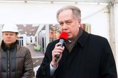 Former Minister of Culture Alexander Sokolov Stock Photos