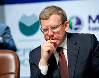 Former minister of finance Kudrin Royalty Free Stock Image