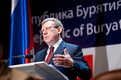 Former minister of finance Kudrin Royalty Free Stock Photos