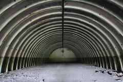 Former missile hangar Stock Photography