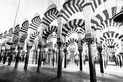 Former mosque situated in the Andalusian city of Codoba, Spain Royalty Free Stock Photo