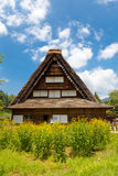 Former Nakano Chojiro residence in Ogimachi gassho style village Royalty Free Stock Images
