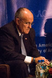Former New York City Mayor Rudy Giuliani. General George Casey (former Chief of Staff of the U.S. Army) and Linda Chavez (Assistant to President Ronald Reagan Royalty Free Stock Images