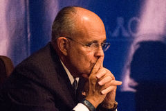 Former New York City Mayor Rudy Giuliani Stock Photography