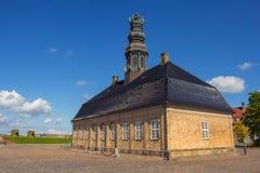 Former Nyholm Central Guardhouse. At Holmen in copenhagen, Denmark Stock Photos