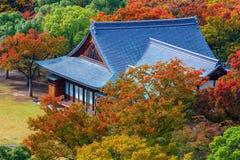 Former Osaka Guset House at Osaka castle Garden Royalty Free Stock Photo